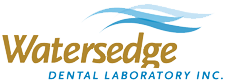 Watersedge Dental Lab Logo for Evident Testimonial